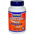 ALPHA LIPOIC ACID 100mg  120 VCAPS By Now Foods