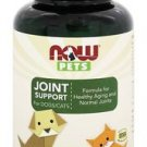NOW PETS JOINT SUPPORT (CATS & DOGS)  90 LOZ By Now Foods
