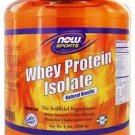 WHEY ISOLATE VANILLA  5 LB By Now Foods