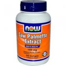 SAW PALMETTO 160mg  240 SGELS By Now Foods