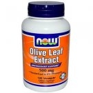 OLIVE LEAF EXT 500mg  120 VCAPS By Now Foods