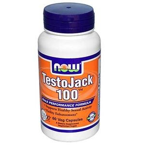TESTO JACK 100   60 VCAPS By Now Foods