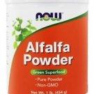 ALFALFA POWDER  1 LB By Now Foods