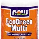 ECO-GREEN MULTI  60 TABS By Now Foods