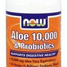 ALOE VERA 10,000 & SOOTHING HERBS  90 VCAPS By Now Foods