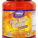 FIT & TONE(TM) PROTEIN - MOCHA  1.8 LBS By Now Foods
