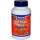 RED YEAST RICE 600MG ORG 120 VCAPS By Now Foods