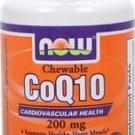 CoQ10 200mg & VIT E   30 LOZ By Now Foods