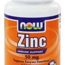ZINC GLUCONATE 50mg  100 TABS By Now Foods