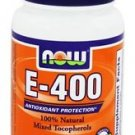 E-400 MIXED TOC  50 SGELS By Now Foods