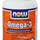 OMEGA-3   90 SGELS ENTERIC By Now Foods