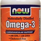 OMEGA-3 1000mg  100 SGELS By Now Foods