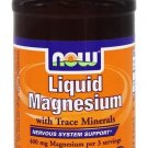 LIQUID MAGNESIUM/TRACE MINS 8 OZ By Now Foods
