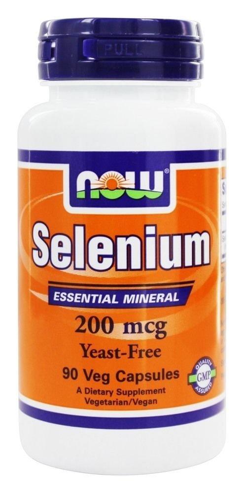 SELENIUM 200mcg  90 VCAPS By Now Foods