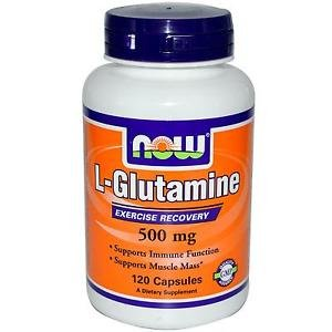 GLUTAMINE 500mg 120 CAPS By Now Foods