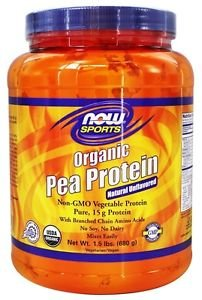 ORGANIC PEA PROTEIN  1.5 LBS By Now Foods