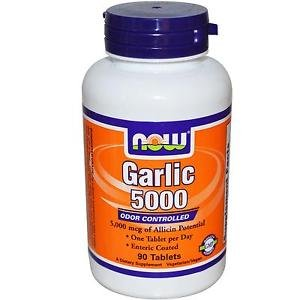 GARLIC 5000 ENTERIC 90 TABS By Now Foods