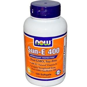 SUN-E 400 IU   120 SGELS By Now Foods