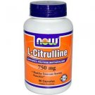 CITRULLINE  750MG   90 VCAPS By Now Foods