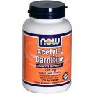 ACETYL L-CARN 500mg 100 VCAPS By Now Foods