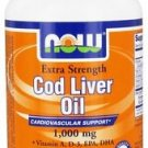 COD LIVER OIL 1,000MG    90 SGELS By Now Foods