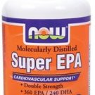 Super Omega EPA 1200mg 360/240  60 SGELS By Now Foods