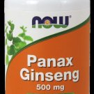 Panax Ginseng 500 Mg  100 Caps NOW Foods