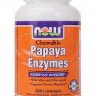 Papaya Enzyme Chewable  360 Tabs NOW Foods