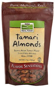 TAMARI ALMONDS  7 OZ By Now Foods