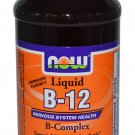 B-12,Liquid B-Complex   8 Oz NOW Foods