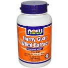 Horny Goat Weed 750Mg  90 Tabs NOW Foods