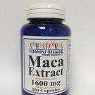 Maca Extract 1600 mg 200 Capsules