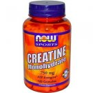 Creatine 750Mg  120 Caps NOW Foods