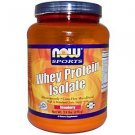 Whey Isolate Strawberry 1.8 Lbs NOW Foods
