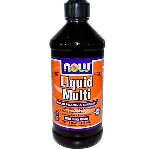 Liquid Multi Berry 16 Oz NOW Foods