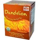 Now Foods, Real Tea, Dandelion Cleansing Herbal Tea, Caffeine-Free, 24 Tea Bags,