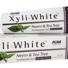 XYLIWHITE NEEM & TEA TREE TOOTHPASTE 6.4 OZ By Now Foods
