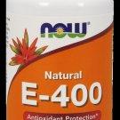 E-400 Mixed Toc  100 Sgels NOW Foods