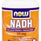 Nadh 10Mg With 200Mg Ribose   60 Vcaps NOW Foods