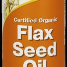 Flax Seed Oil Organic 24 Fl Oz NOW Foods