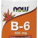 NOW Foods Vitamin B-6 100mg 100 Capsules