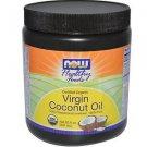 Organic Coconut Oil Virgin 20 Oz NOW Foods