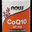 Coq10 30Mg  60 Vcaps NOW Foods