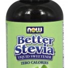 BETTER STEVIA ORGANIC LIQUID 2 OZ By Now Foods
