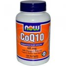 Coq10 60Mg  With Omega-3 120 Sgels NOW Foods