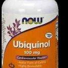 Ubiquinol 100Mg  120 Sgels NOW Foods