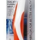 Mouth Watchers - Nano Silver Adult Soft Toothbrush Orange