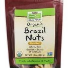 ORGANIC BRAZIL NUTS, RAW  10 OZ. By Now Foods