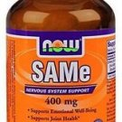 Now Foods Sam-E 400Mg 60 Tabs