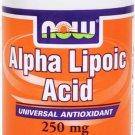 Alpha Lipoic Acid 250Mg  60 Vcaps NOW Foods